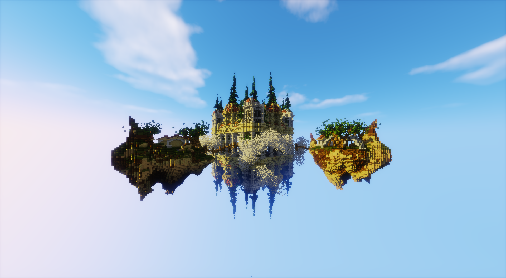 Completed - Exclusive skyblock spawn / lobby | MC-Market