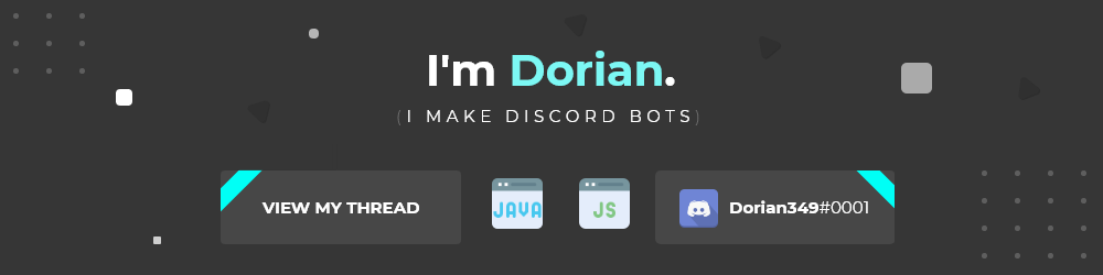 Offering - [NEW THREAD] Discord Bot - Quality Bot