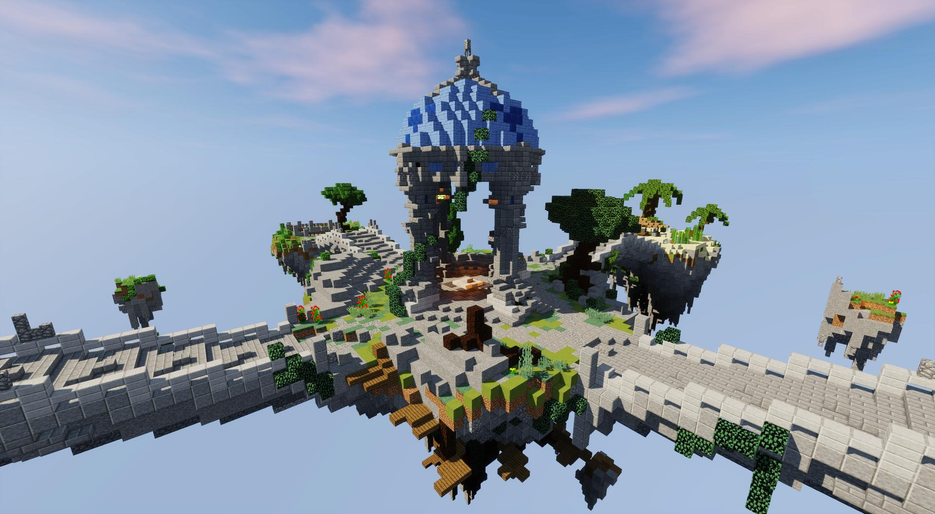 Completed - ✨ [EXCLUSIVE] ✨Beautiful Skyblock Spawn | MC
