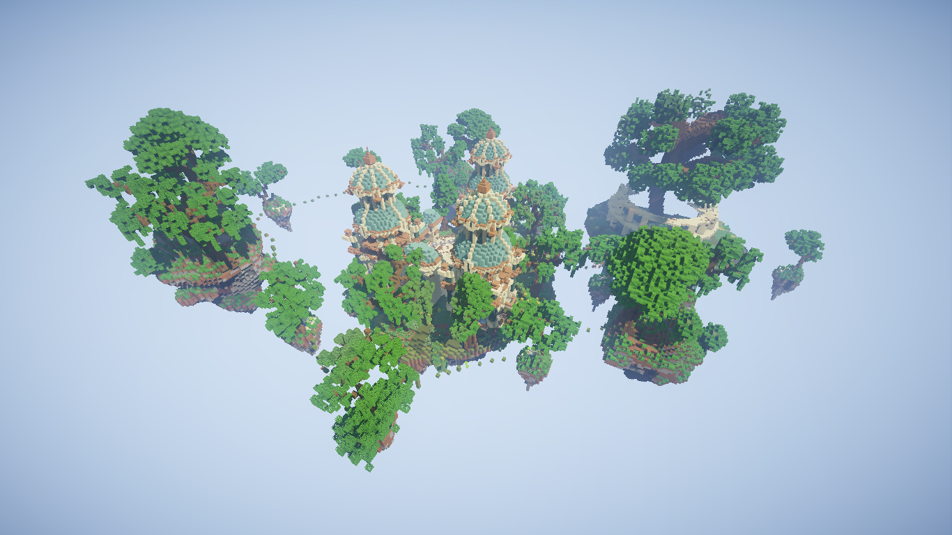 SkyBlock Starting Islands 45 in total + Awesome SkyBlock