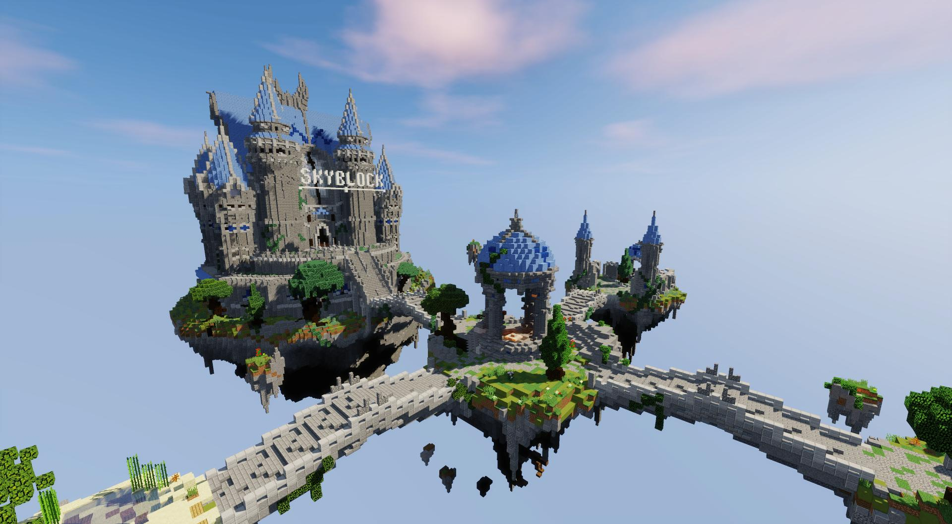 Completed - ✨ [EXCLUSIVE] ✨Beautiful Skyblock Spawn | MC-Market
