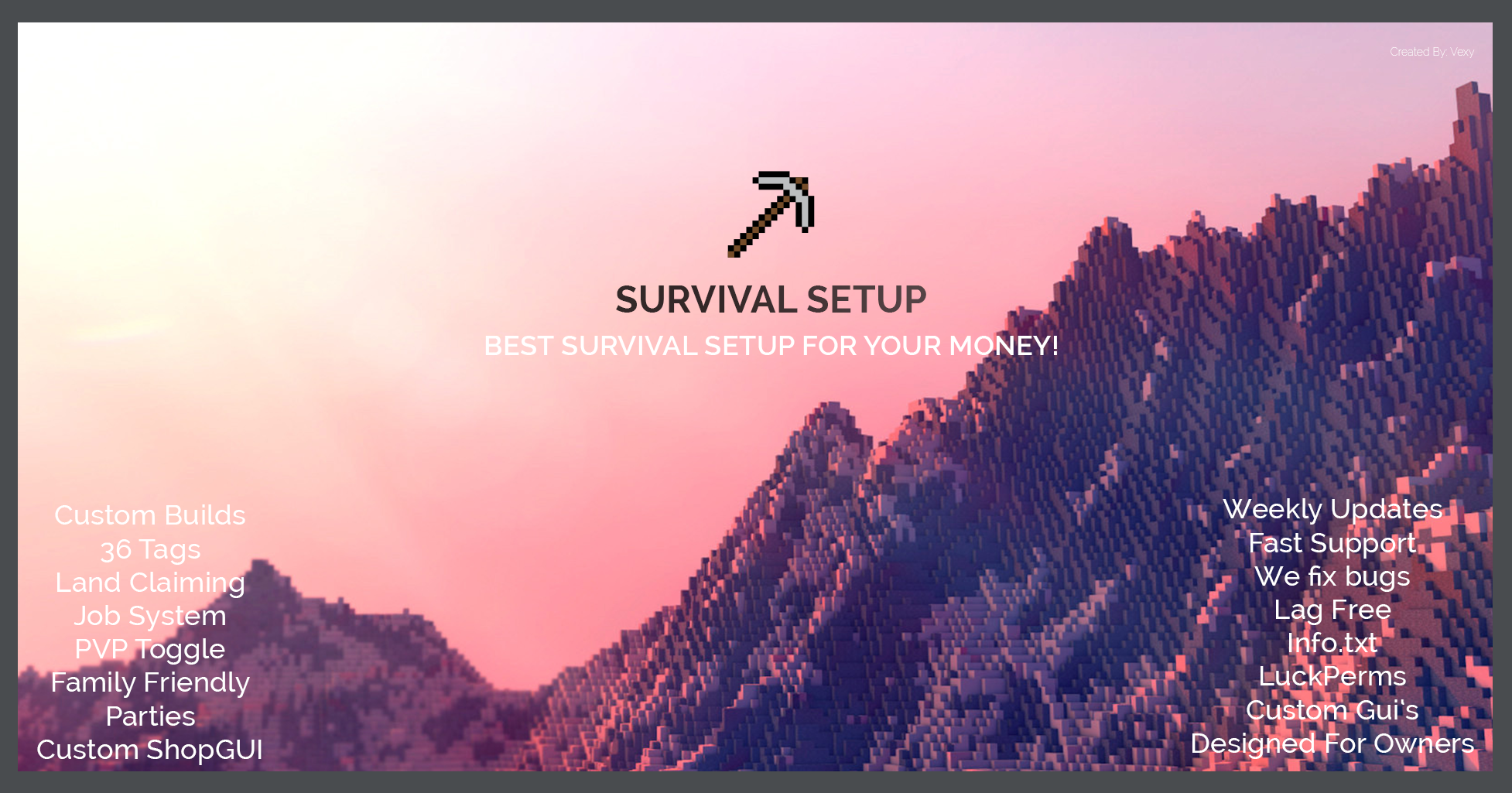 ♧♧ Professional Survival Setup | Tags, ShopGUI+, LuckPerms